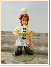 Chef Figurine - Sugar Art