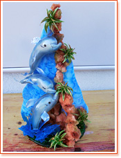 Dolphins - Sugar Art