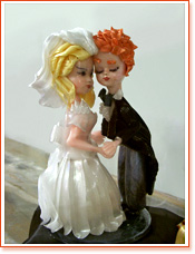 Wedding Couple - Sugar Art