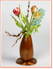 Vase with Flowers - Sugar Art